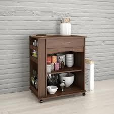 nexera furniture website. Nexera Walnut Kitchen Cart With Drawer Furniture Website B