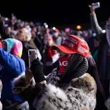 Trump Supporters Left Stranded in Cold ...