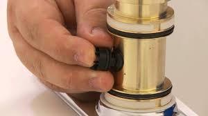 moen single handle kitchen faucet repair