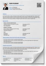 Modern Resume Template Free Pdf Resume Format In Word And Pdf Shriresume Resume Format
