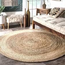outdoor jute rug beige braided round jute rug