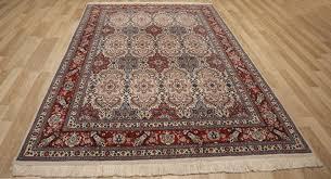 antique silk rug