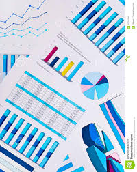 Business Charts And Graphs Charts And Graphs Business Background Stock Photo Image