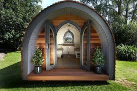 garden building. Garden Hideouts Retreat Pod Eclectic-garden-shed-and-building Building E