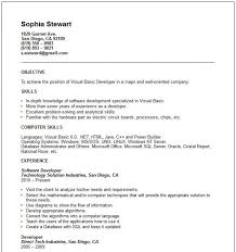 Example Basic Resume. Format For Simple Resumes Template Example ...