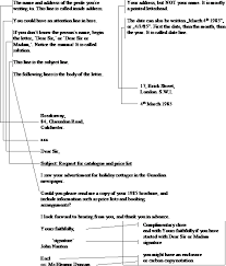 layout of a business letter referat different kinds of business letters