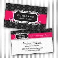 Custom Consultant Double Sided Business Card By Sweetmaggies