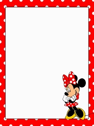 Minnie Mouse Blank Invitation Template Minnie Mouse Blank Invitations