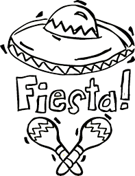 Small Picture Mexican Coloring Pages