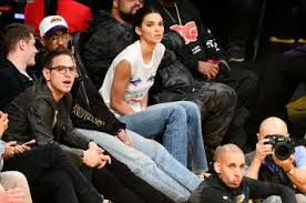 Celebrities Fill Courtside Seats For Rockets Lakers Game