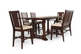 Broyhill Attic Heirloom Dining Table Broyhill Attic Rustic Oak Six Piece Pub Set Mathis Brothers