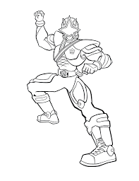 Power Ranger Coloring Pages Gold Ranger Coloringstar