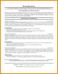 Resume Objective For Retail Management Hadenough Interesting Retail Store Resume