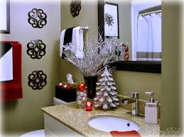 Bed And Bath Decorating Decorate Small Bathroom Christmas