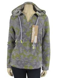 Hoodiebuddie Size Chart Hoodie Buddie Purple Gray Knit Pullover Poncho Sweatshirt With Built In Earbuds X Small