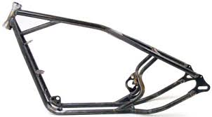 paughco rigid frame for sportster rubber mounted engines 690 161