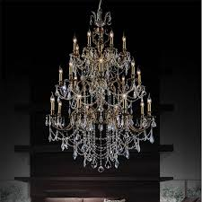 beautiful antique crystal chandeliers