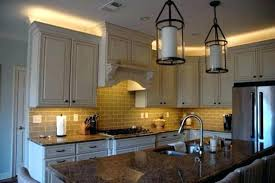 over cabinet lighting for kitchens. Over Counter Lighting Cabinet Above Kitchen Led Inspired Traditional . For Kitchens I
