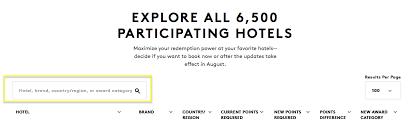 Marriott New Award Chart Latest Marriott Spg Merger Announcements Mostly Bad News