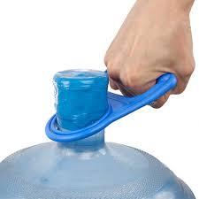 1pcs bottled water pail bucket handle upset nergy carry easy