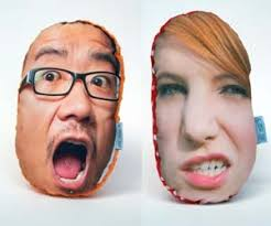 Giant Personalized Face Pillows