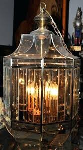 beveled glass chandelier large and brass octagonal foyer hanging light replacement panels beveled glass chandelier