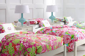 Lilly Pulitzer Fabric Bedroom Charming Floral Fabric By Lilly Pulitzer Bedding For