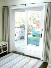 patio door curtain rod sliding patio door curtains top best sliding door curtains ideas on patio