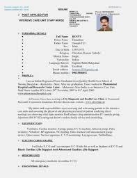 All Resume Format Free Download Nursing Resume Templates Free Downloads Nursing Resume Format Free