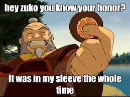 Zuko's Honor | Know Your Meme via Relatably.com