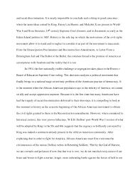 formal essay 2 and racial discrimination