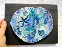 ceramic tiles art ocean. Perfect Ceramic Ocean Art Beach Fossil Ceramic Wall By Clayshapes On Tiles C