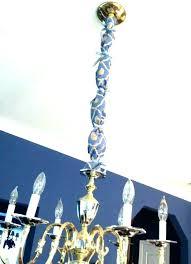 chandeliers chandelier cord cover burlap chain elegant silk uk