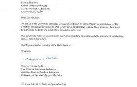 Fundraising Letter Donation Letter Donation Letter The Samples