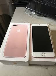 iphone 7 plus rose gold. apple iphone 7 plus rose gold