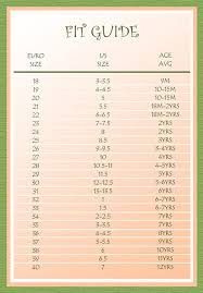 Kids Shoes Size Chart European Shoe Size Conversion Chart