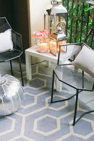 outdoor moroccan furniture. Ross Geometric Patio Chairs (similar Here) // Ikea White Side Table Rugs USA Outdoor Pattern Rug C/o HomeGoods Lanterns Moroccan Furniture S