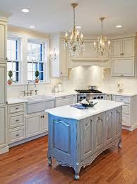 full size of kitchen l shaped white wooden cabinet and island with countertop by crystal chandelier