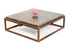 contemporary industrial furniture. industrial modern dark grey concrete and rust color coffee table contemporary furniture