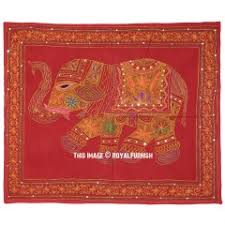 indian ari embroidered elephant fabric wall hanging decor art on hanging cloth wall art with decorative fabric cloth wall hangings royal furnish
