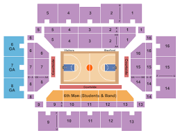 Buy Washington Huskies Basketball Tickets Seating Charts