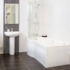 Image of: narrow bathtub design