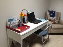 incredible office desk ikea besta. Amazing Charming Ikea Micke Desk In White With Double Drawers Plus Table  Lamp Before The Wall For Home Office Incredible Office Desk Ikea Besta