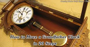 how to move a grandfather clock 20