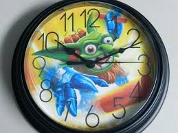 Skylander Bedroom Wall Decor Clock Made To Order Wants Skylander Bedroom  Furniture