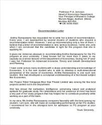 academic reference letter sample academic reference letter 5 examples in pdf word