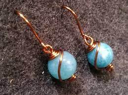 spherical stones jewelry wire wrap