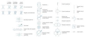 electrical transformer diagram. Electrical Symbols \u2014 Transformers And Windings Transformer Diagram