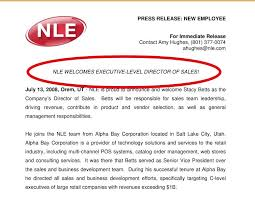 Templates For Press Releases How To Write A New Hire Press Release Free Template