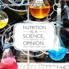 Nutrition Is A Science Not An Opinion Registered Dietitian